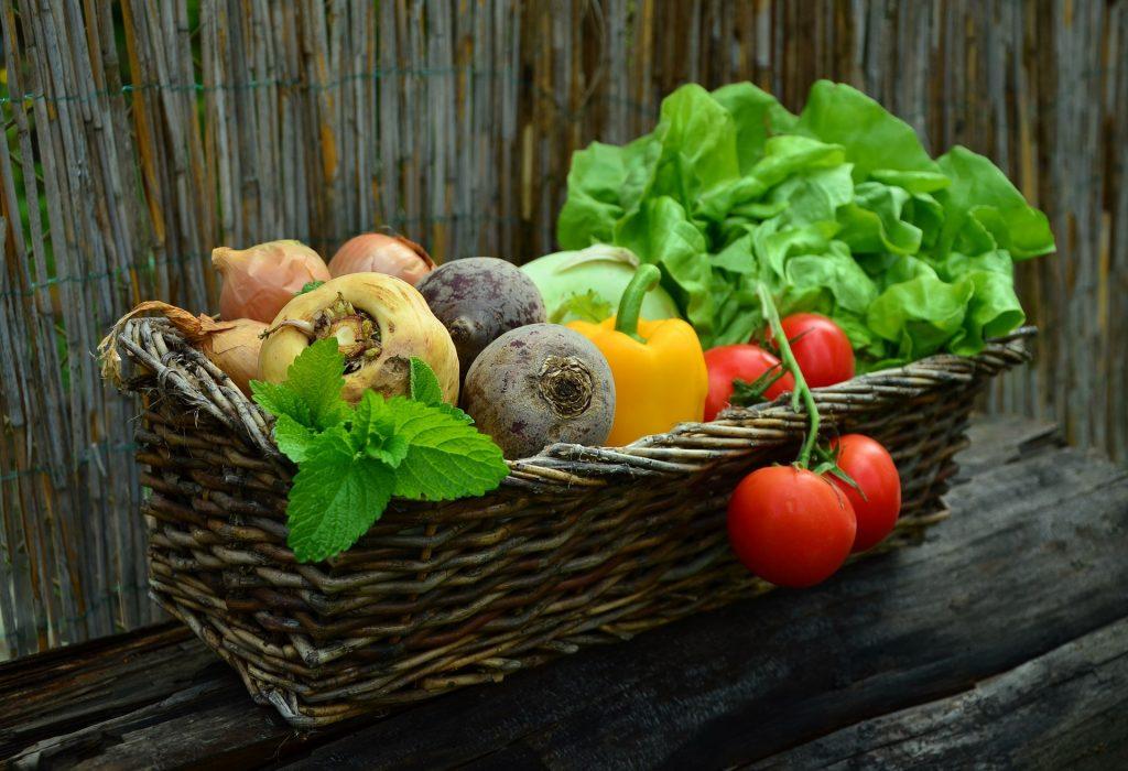 Frutas, verduras y hortalizas e ingesta de fibra